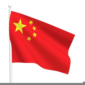 Free Clipart China Flag.