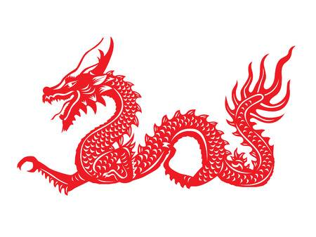 Red chinese dragon clipart » Clipart Station.