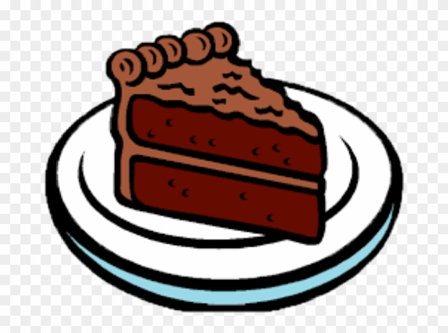 Pice Clipart Chocolate Pastry.