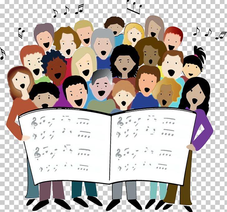 Choir Singing Song PNG, Clipart, Art, Cartoon, Choir, Clip.