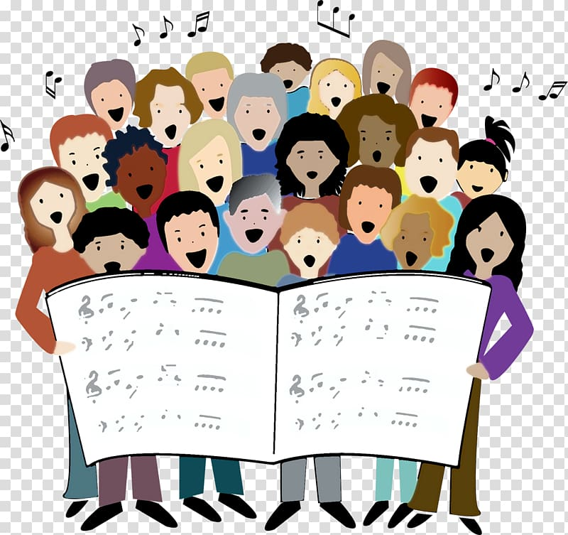 Choir Singing Song , Event transparent background PNG.