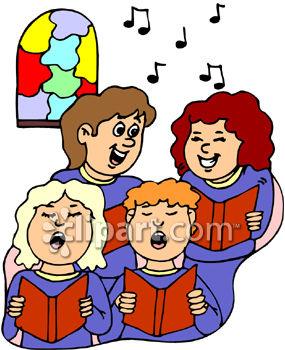 Choir singing clipart » Clipart Station.