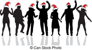 Office christmas party clipart clip art library 2.