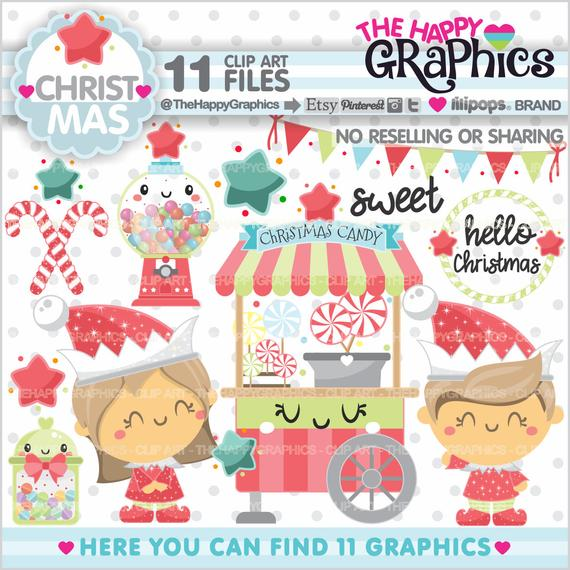 Christmas Clipart, Christmas Graphic, COMMERCIAL USE, Christmas.