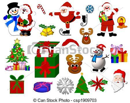 Free Clipart Christmas Symbols.