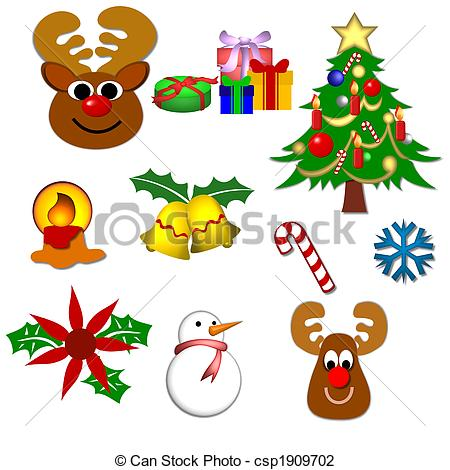 clipart of christmas symbols #12