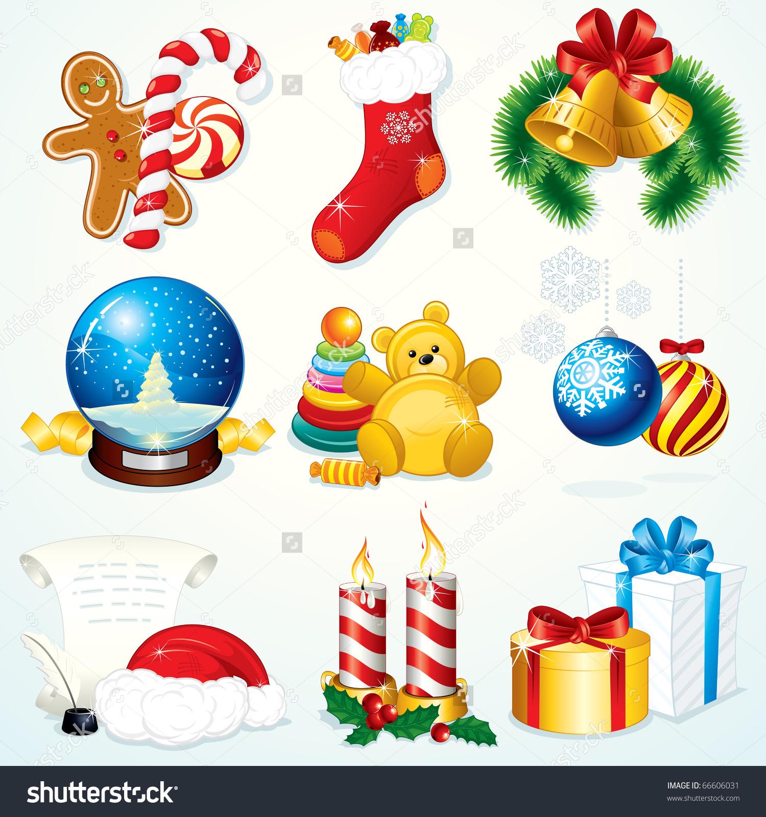clipart of christmas symbols #11