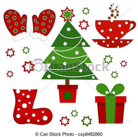 clipart of christmas symbols #18
