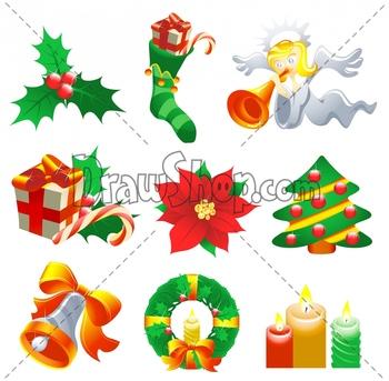 clipart of christmas symbols #10