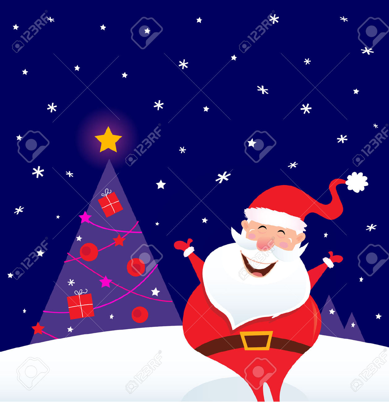 Clipart of christmas tree falling over clipground
