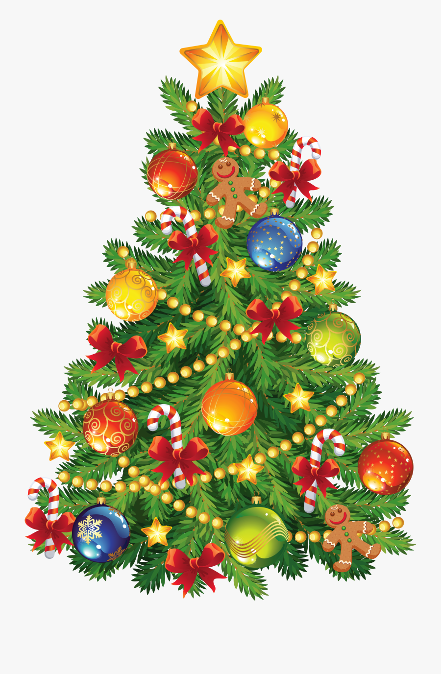 Christmas Trees Clipart.