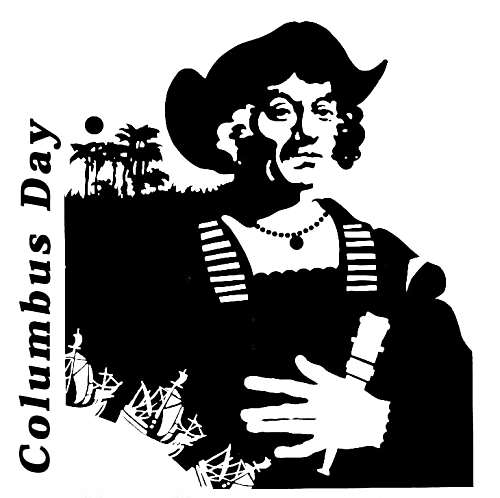Columbus ★ Facts and Clipart: When is Columbus Day in the USA.