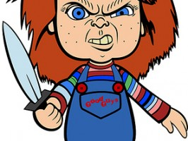 Clipart of chucky.