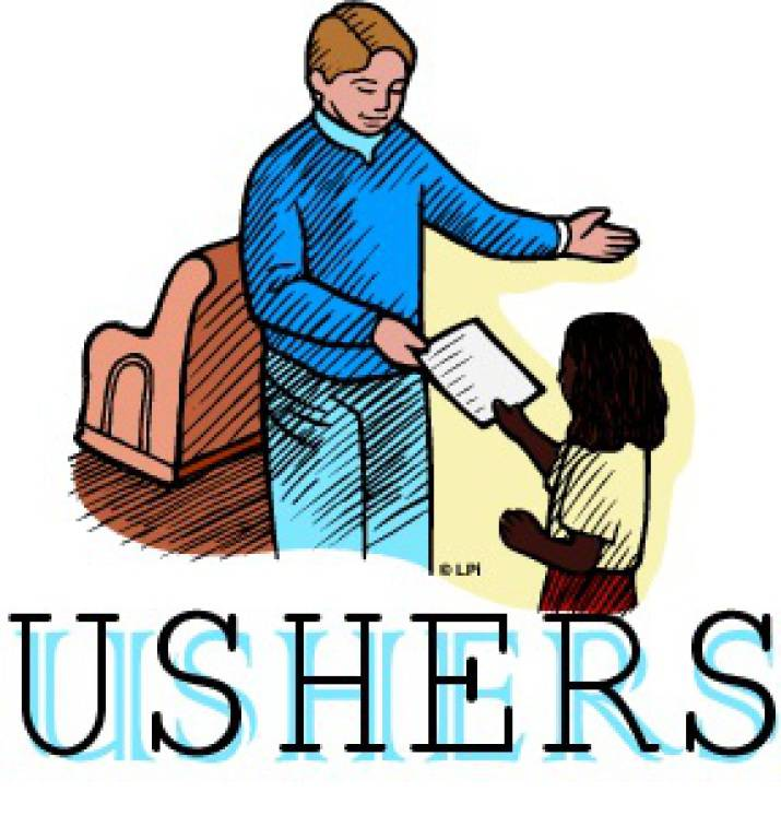 Church Usher Clipart Images.