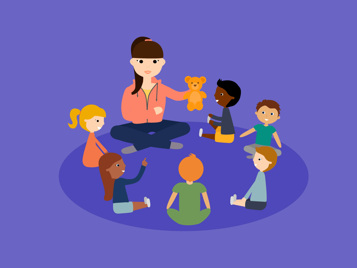 Daycare clipart circle time for free download and use images in.