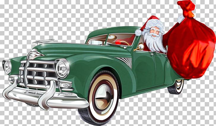 Classic car Santa Claus Motors Corporation, Santa Claus car.