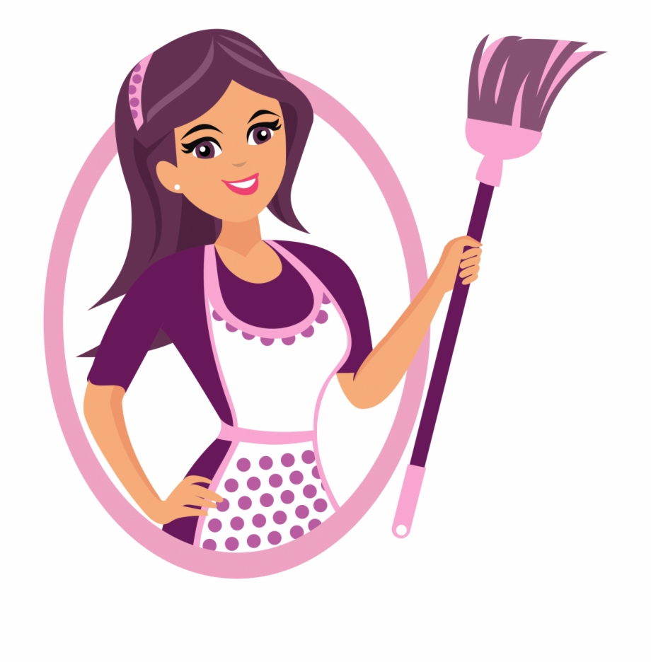 House Cleaning Pricing Cleaning Lady House Cleaning Logo.