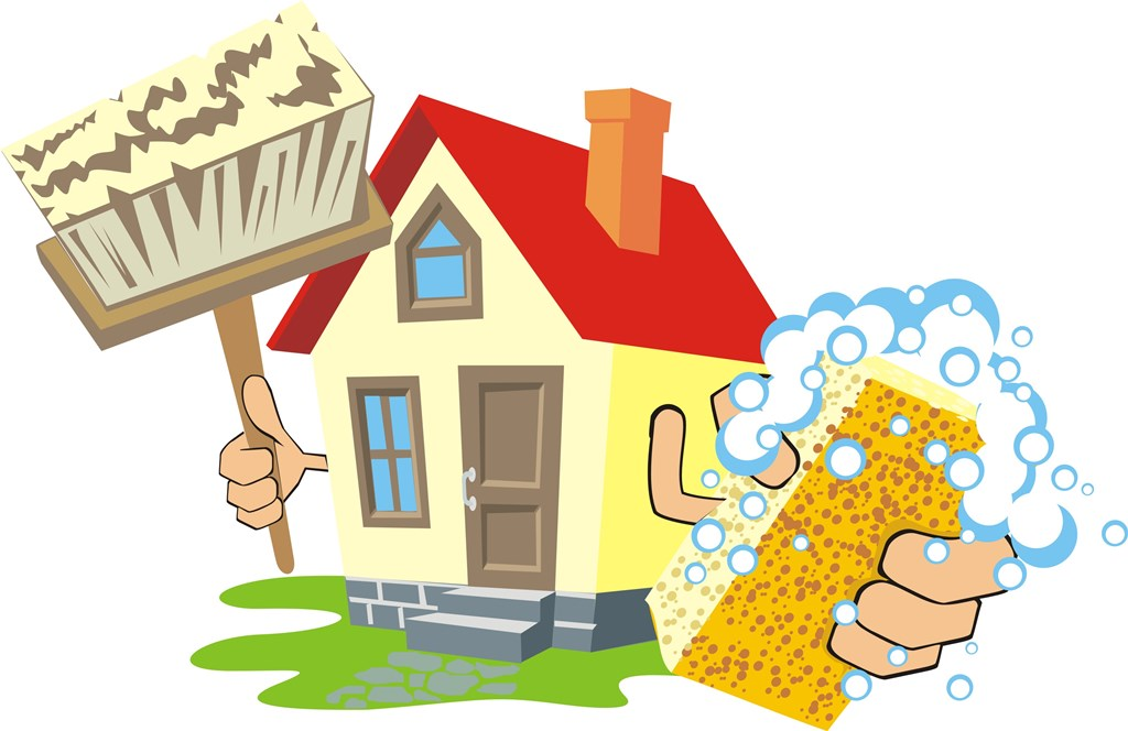 House Cleaning Clip Art Images.