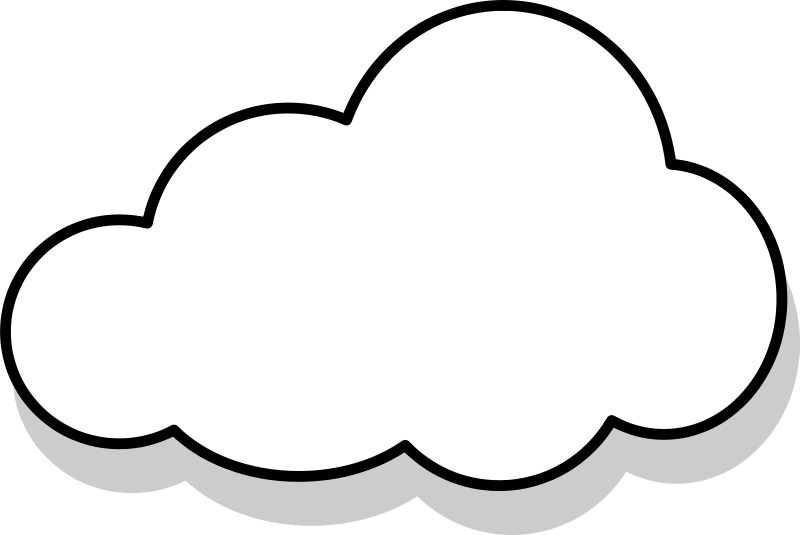 Gray Cloud Clipart.