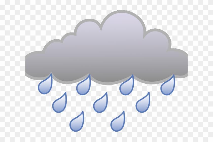 Cartoon Rain Clouds.