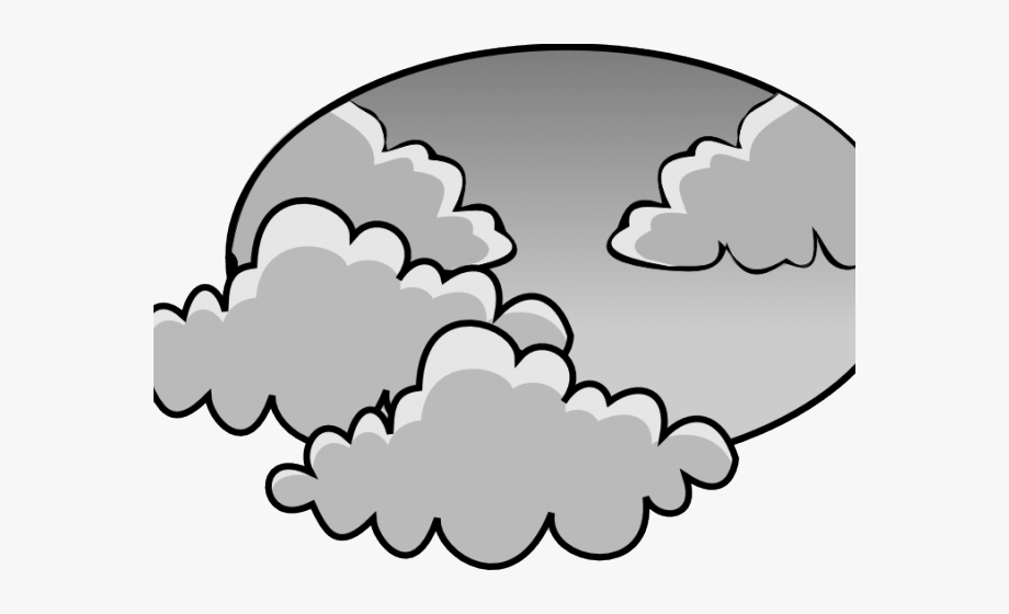 Weather Clipart Cloudy.