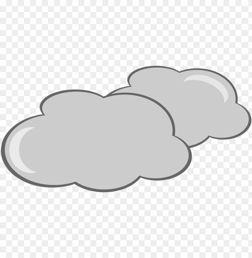cloud clipart, cloudy sky, cloudy weather, cute clouds.