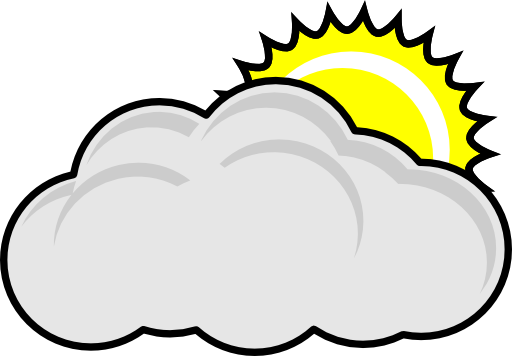 Cloudy day clipart 2 » Clipart Station.