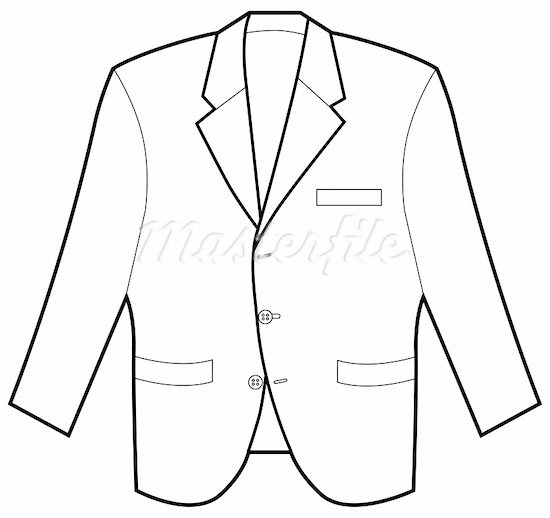 Clip Art Coat.