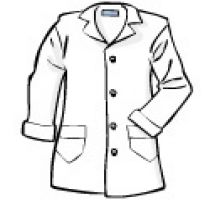 Coat Clipart Black And White.