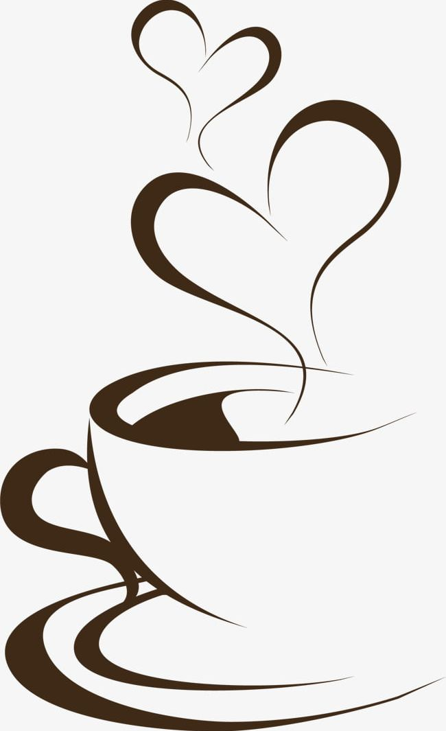 Hand Painted Brown Coffee Cup PNG, Clipart, Aroma, Brown.