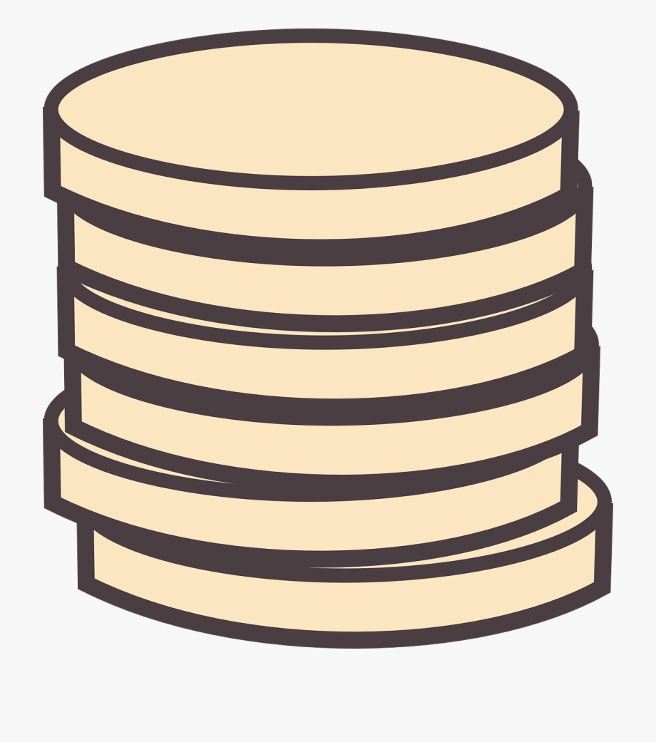 Stack Of Coins Clipart , Transparent Cartoon, Free Cliparts.