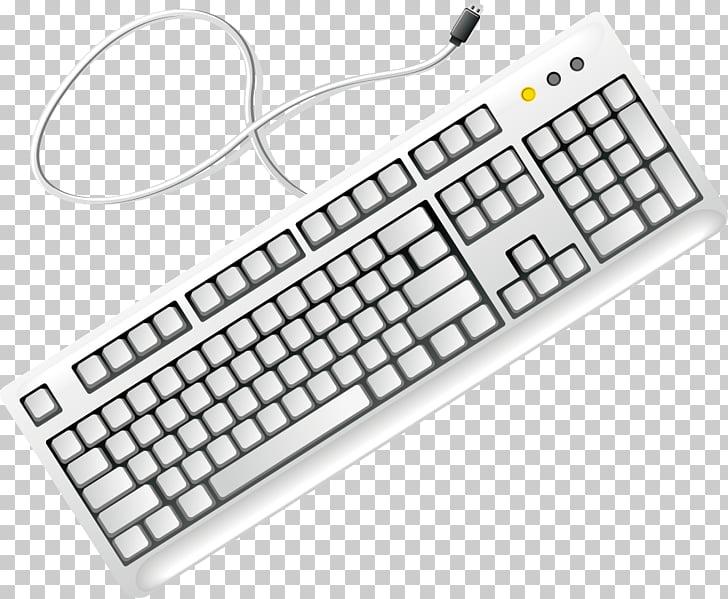 Computer keyboard , keyboard PNG clipart.