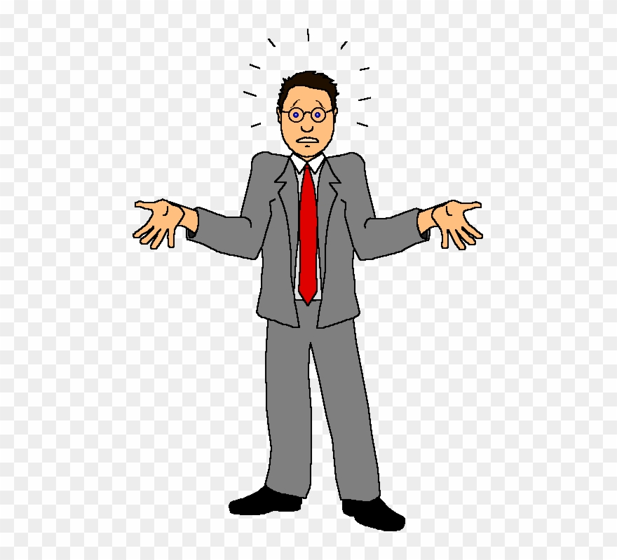 Confused Man Clipart Gif, Free Confused Man Clipart.