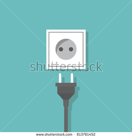 clipart of connecting plug to wall no watermark #4