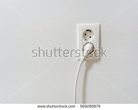 clipart of connecting plug to wall no watermark #2