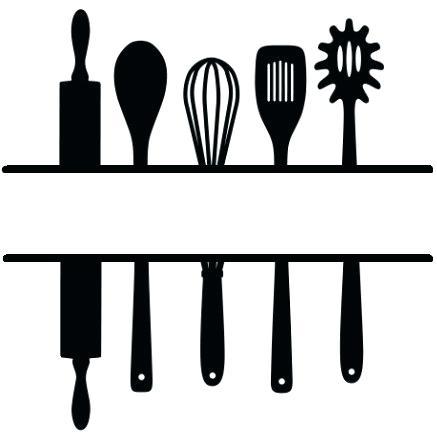 Clipart Of Cooking Utensils.
