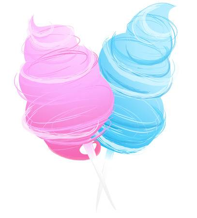 2,637 Cotton Candy Stock Vector Illustration And Royalty Free Cotton.
