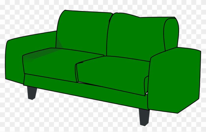 Sofa Transparent Cartoon.