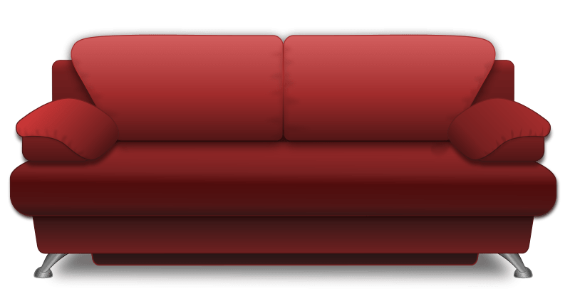 Free clipart couch 1 » Clipart Portal.