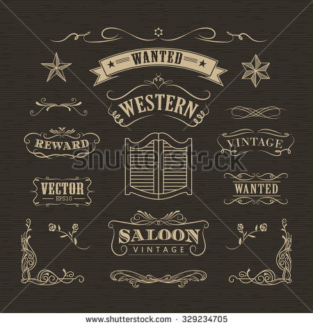 Country Western Stock Images, Royalty.