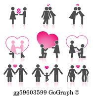 Couple In Love Clip Art.