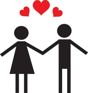 Clipart couples in love 1 » Clipart Portal.