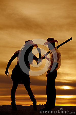 Tip Of A Gun Royalty Free Stock Photography.