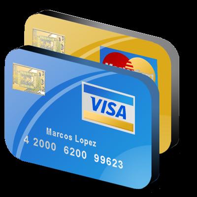 Visa Credit Card Clipart.