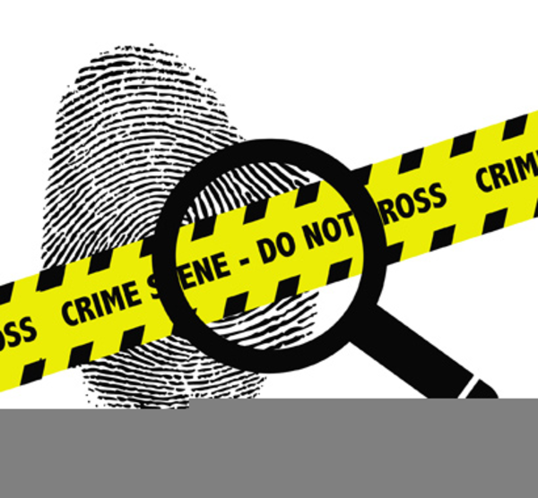 Free Clipart Of Crime Scene.