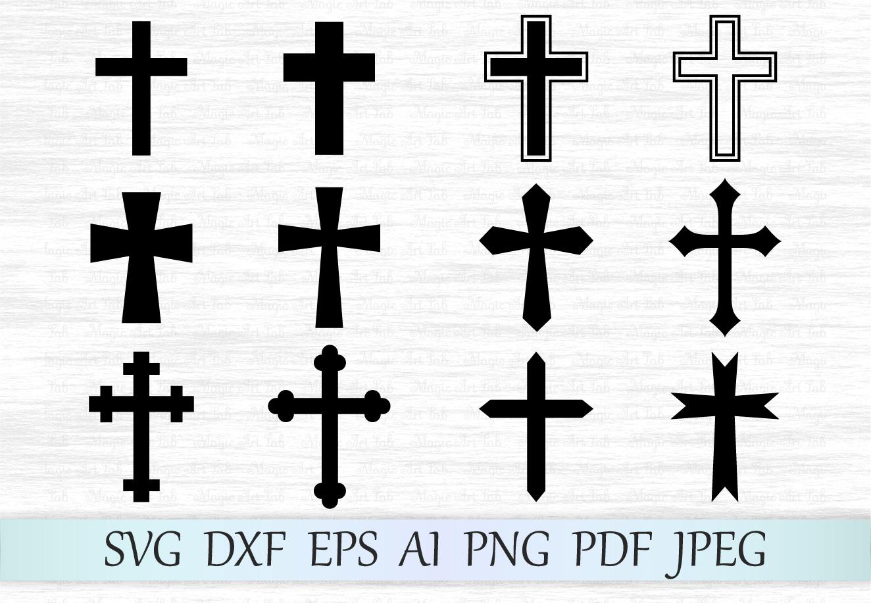 Cross svg, Cross clipart, Crosses svg file, Cross vector, Christian svg,  Cross silhouette, Crosses cut files, Catholic svg.