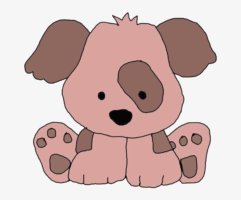 Clip Transparent Cute Puppy Clipart.