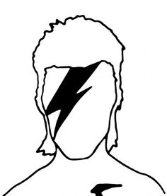 Minimal Posters in Tribute to David Bowie.
