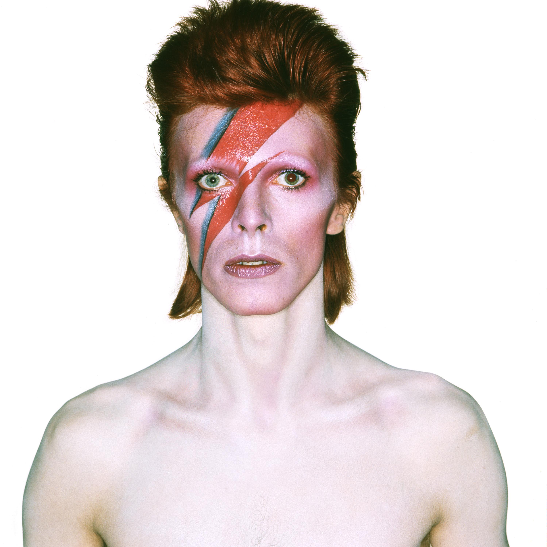 David Bowie Clipart Design.