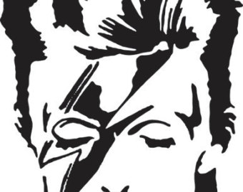 David bowie decal.